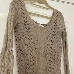 Free People light weight sweater
